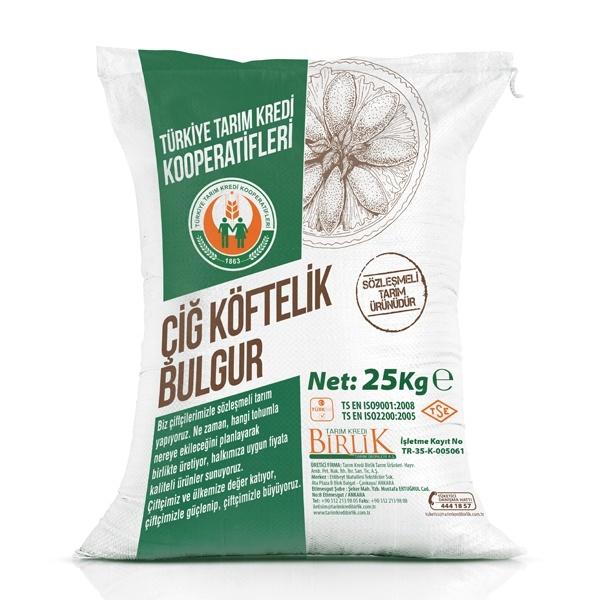 Çiğ Köftelik Bulgur (25 kg)
