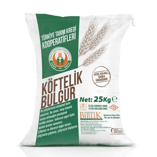 Köftelik Bulgur (25 kg)