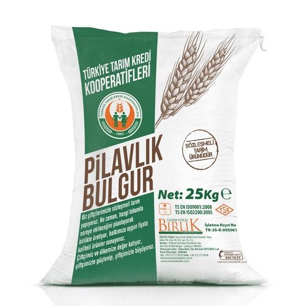 Pilavlık Bulgur (25 kg)