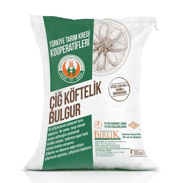 Çiğ Köftelik Bulgur (50 kg)