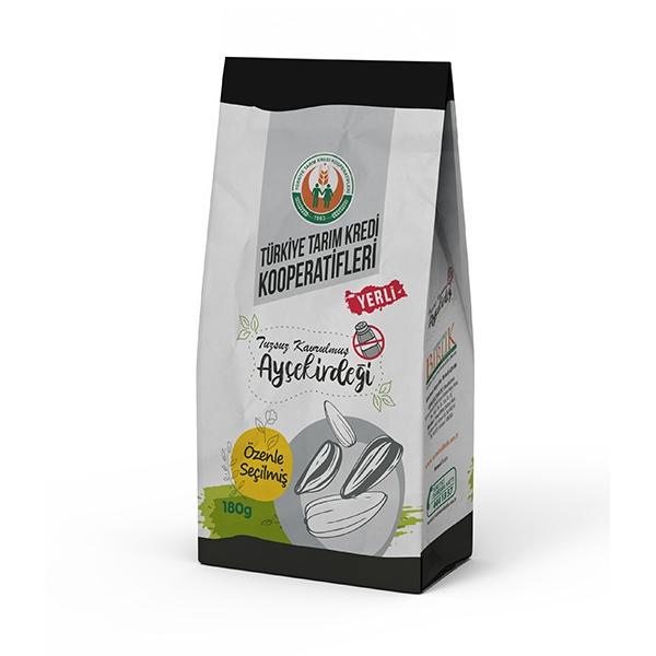 Kavrulmuş Beyaz Ayçekirdeği Tuzsuz (180 g)