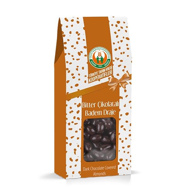 Bitter Çikolatalı Badem Draje (150 g)