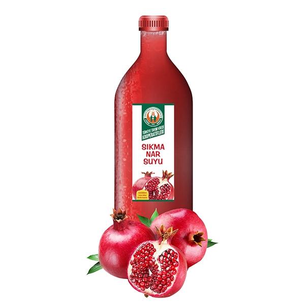 % 100 Nar Suyu (Donuk) (2000 ml)