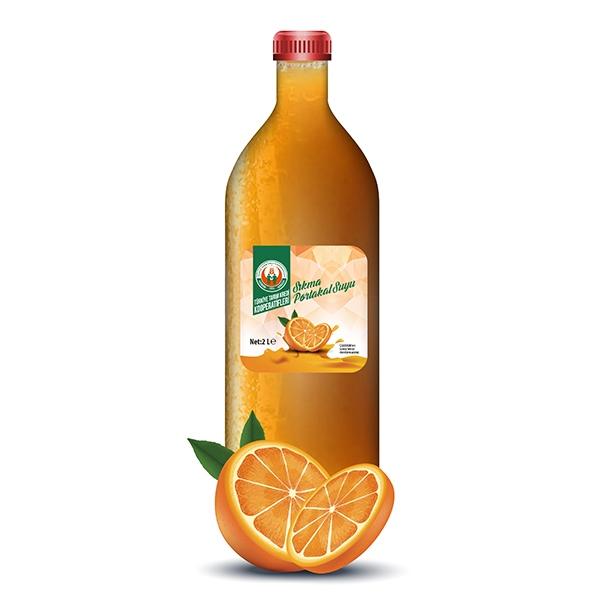 % 100 Portakal Suyu (Donuk) (2000 ml)