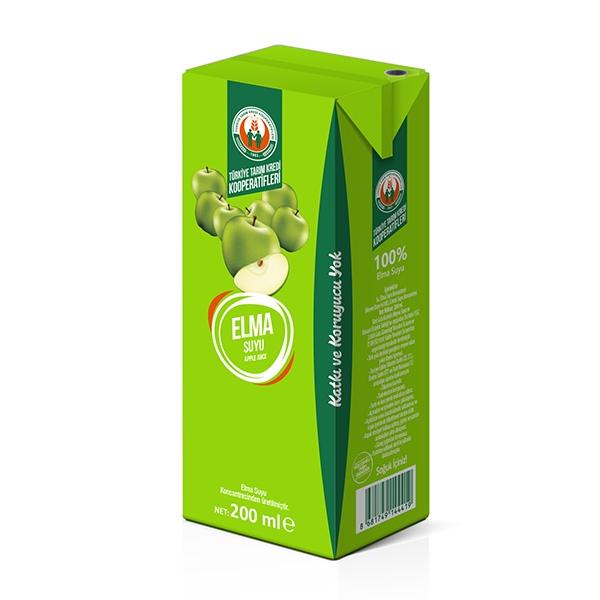 %100 Elma Suyu 200 ml