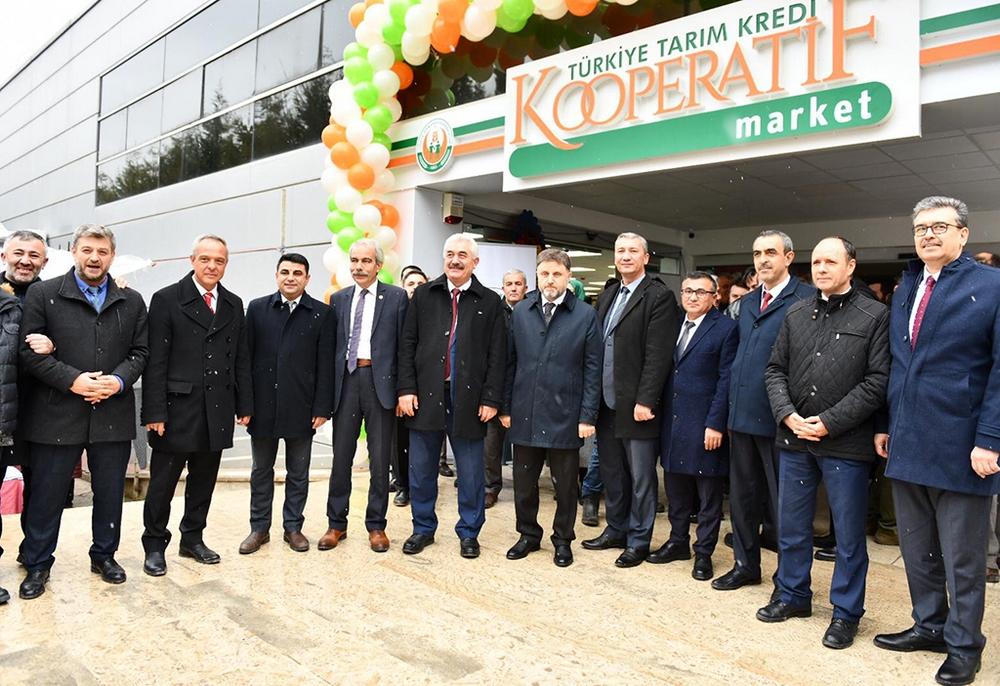 Tarım Kredi Kooperatif Market 50. Şubesi açıldı