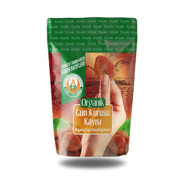Organik Gün Kurusu Kayısı (200 g)