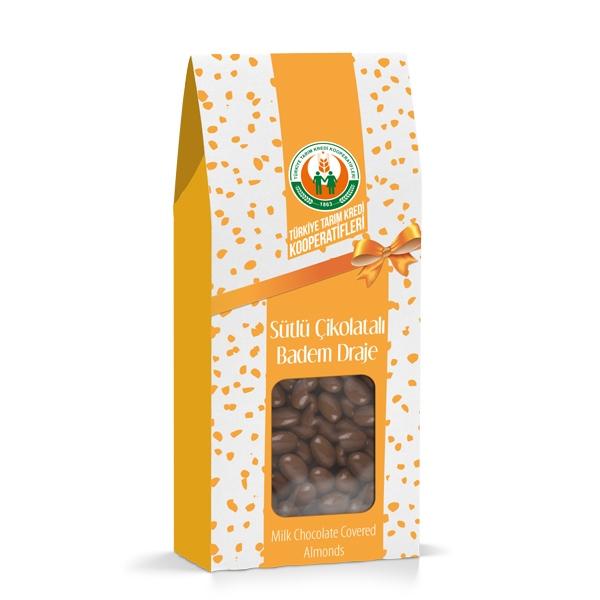Sütlü Çikolatalı Badem Draje (150 g)