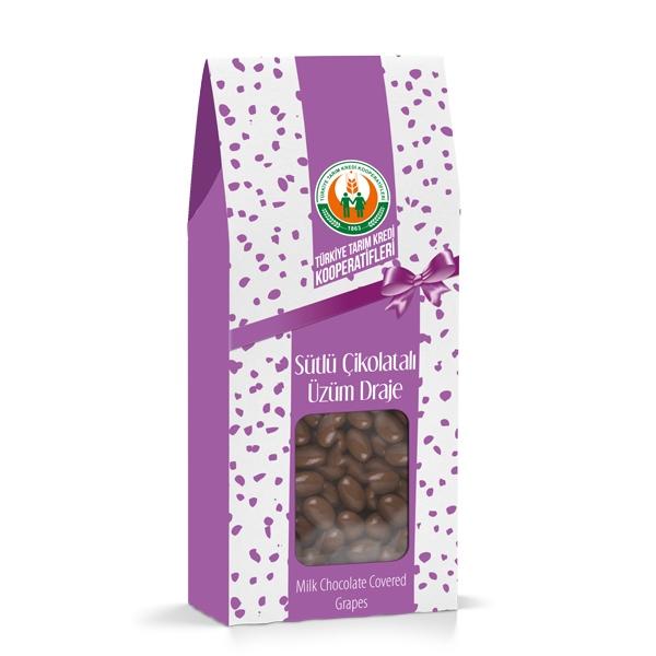Sütlü Çikolatalı Üzüm Draje (150 g)