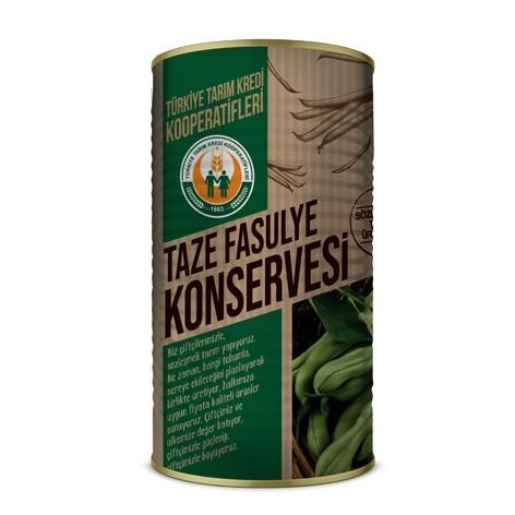 Taze Fasulye Konservesi (4200 gr)