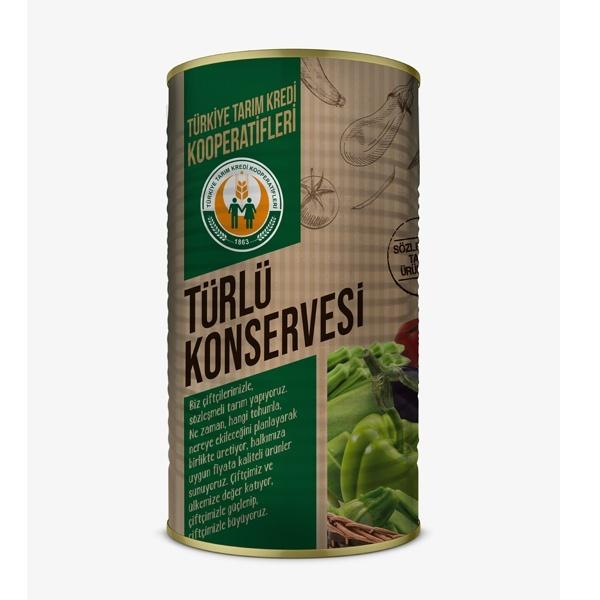 Türlü Konservesi (4000 gr)
